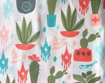 Succulents- Tie Bandana