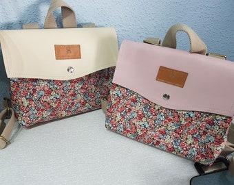 Backpack Mini Fabiola flowers - Fabiola Ricci