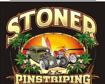 Stoner Pinstriping Garage Shirts by Dickies