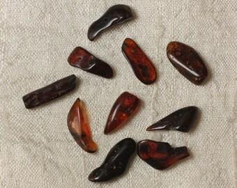 Amber - 14-16 mm beads - 10pc 4558550035554 bag beads