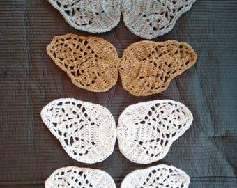 Crochet Baby Angel Wings,Hand Crochet Angel Wings,Crochet Angel Wings Photo Prop,Hand Crochet Baby Angel Wings,Baby Shower Gift,Baby Wings