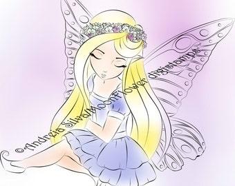 Ashlee Butterfly Wings Faerie
