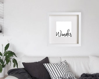 Scripture Art, Christian Wall Art, Typography Poster