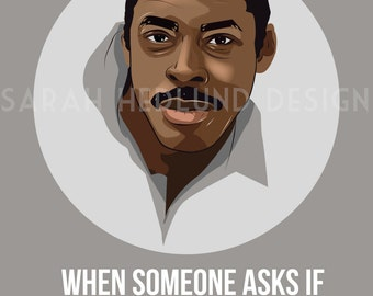 Ghostbusters Poster - Winston - You Say YES!