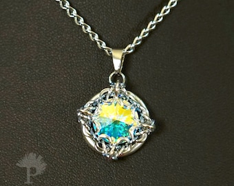 Ice Crystal Pendant