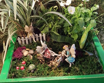 Climbing Fairies Fairy Garden Kit - (Plants not Incl)