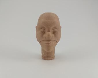 Finger Puppet 3d printed - Brighella
