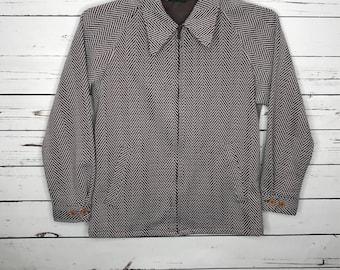 Womens 70's vintage brown jacket