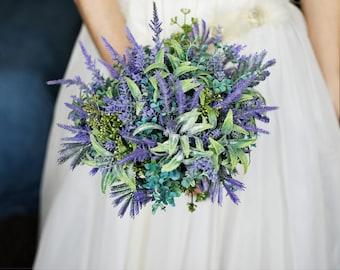 Lavender bouquet | Etsy