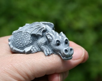 My Pet Dragon Statue - Baby Dragon Complete with Cage - Your Choice of Color