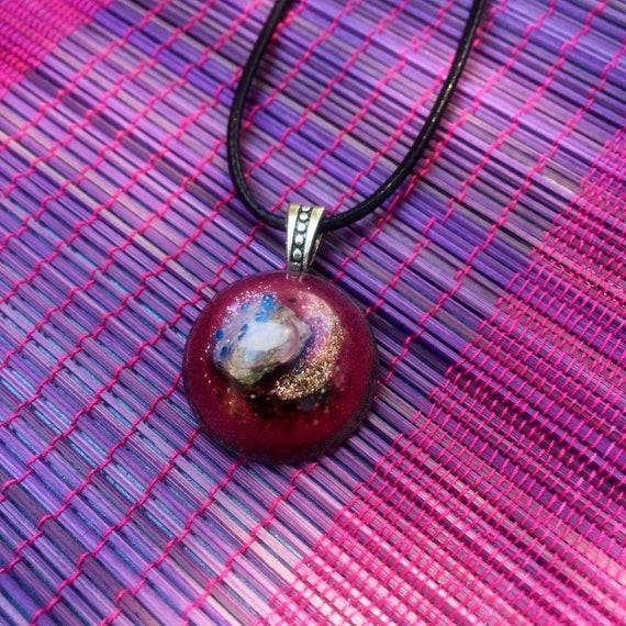 Astral Travel Dream Work Orgone Energy Charm- Akashic Records Orgone- Dark Energy Protection Orgone Necklace- Starchild Orgone- Empath