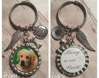 Pet Memorial - Remembering Pet - Memorial Keychain - Dog Memorial - Cat Memorial - Best Friend Memorial - Pet Loss Keychain - Pet Keepsake