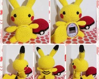 Pikachu Tamagotchi Case