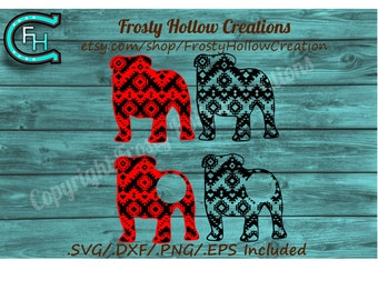 Aztec Bulldogs cutting file SVG instant download PERSONAL USE only!