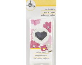 NEW EK Success / EK Tools Heart Medium Punch 54-20079