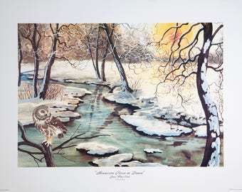 Minnesota River at Dawn by Ken Haag
