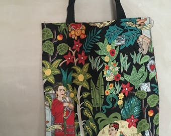 Mexican Art tote bag (black)