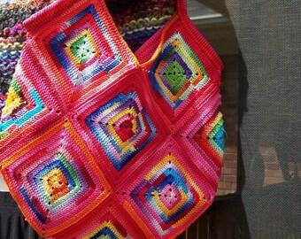Red Hot Mama Purse PDF Crochet Pattern