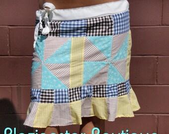 Pinwheel Patch Skirt