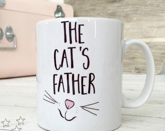 The Cat's Father | Cat Mug | Funny Cat Gift | Cat Lover Gift | Cat Man