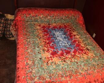 Quilt, Queen Size Southwest Print