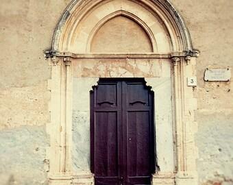 door photography, taormina, italy photography, sicily, europe art, beige decor, architecture, brown decor, travel