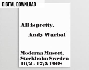 Andy warhol poster | Etsy