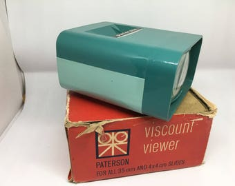 vintage patterson viscount viewer in original box