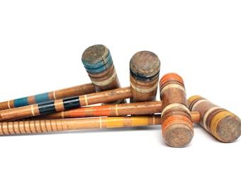 Vintage Croquet Sticks