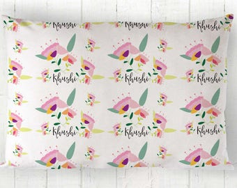 Personalized pillowcases- Standard pillowcase - Toddler pillowcases- Personalized pillowcases for kids -Gifts for kids -Organic pillow cover