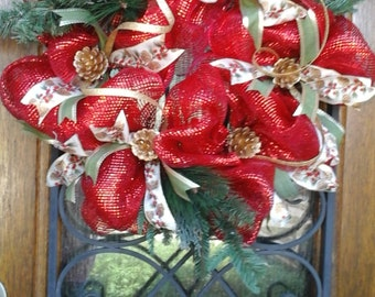Red Christmas, Country Wreath