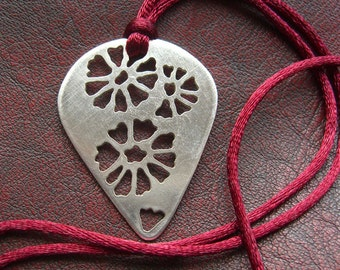 Flower Fossil Necklace