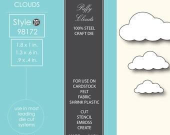 Memory Box Puffy Cloud Die