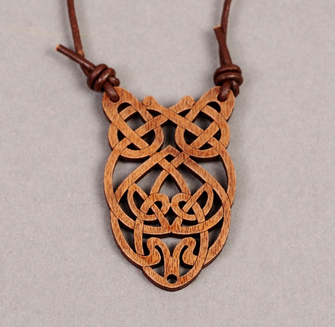 pendant necklace product wood normal men metallic jewelry ann in for demeulemeester lyst