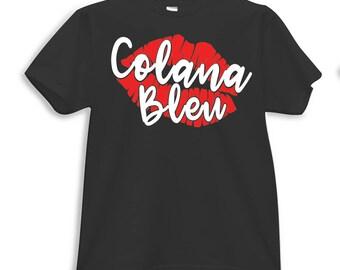 Colana Bleu Tee/Tank