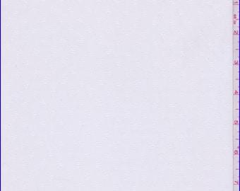 White Diamond Leno Chiffon, Fabric By The Yard