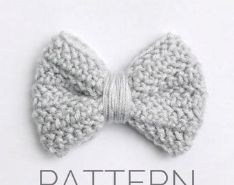 Crochet Bow Pattern//Bow Accessory//DIY Bow//Crochet Pattern//Crochet Embellishment