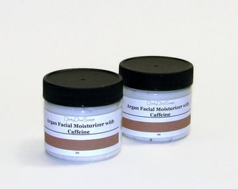 Moroccan  Argan and Coffee   Firming Moisturizing Facial Cream , For all Skin Types 2 oz