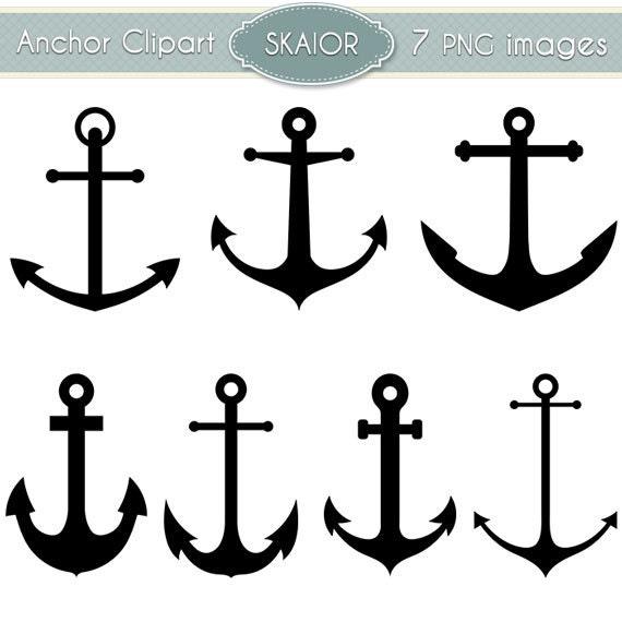 anchor clipart vector anchor clip art nautical clipart steampunk rh etsystudio com Digital Scrapbooking Word Art Digital Scrapbooking Software