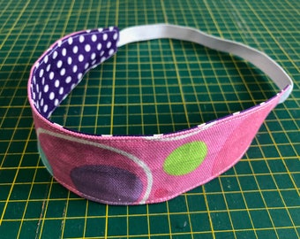 Headband, Girl Headband, Children Headband, Reversible Headband, Girl Gift, Girl Birthday