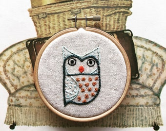 hand embroidery kit | embroidery kit | modern embroidery kit | DIY embroidery | frank hootie