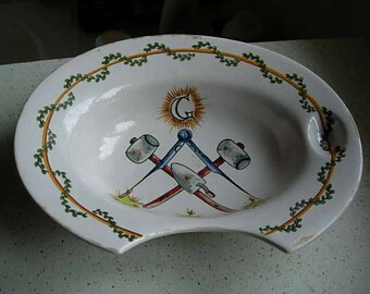masonic bleeding bowl circa 1900
