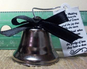 Custom - Single Bell - Wedding Bells, Kissing Bells, Wedding Favor, Single Bell