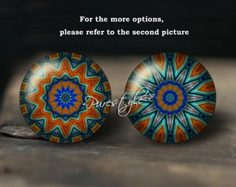 Handmade Photo Glass Cabochon, Round cabochons, Cabs Cabochons, Image Glass Cabochon, glass cabochons, Dome cabochons