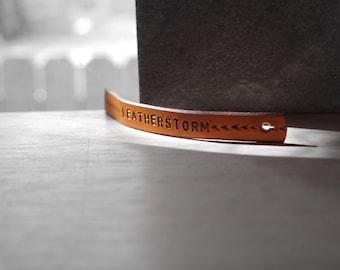 LeatherStorm Bracelet