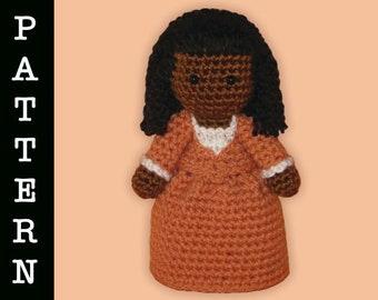 Crochet Pattern - Amigurumi Angelica Doll
