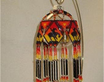 Native American Style End of Trail Ornament PATTERN Only
