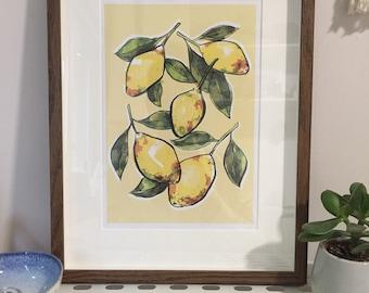 Lemons Print