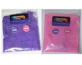 Thermochromic Temperature Colour Changing Powder 31c Violet Purple to Pink