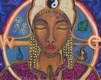 Divine Feminine Print-Yin Yang